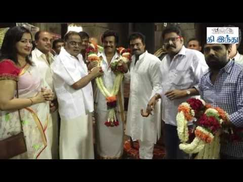 Talkies Today | Superstar Rajnikanth's Lingaa Poojai | Tamil The Hindu