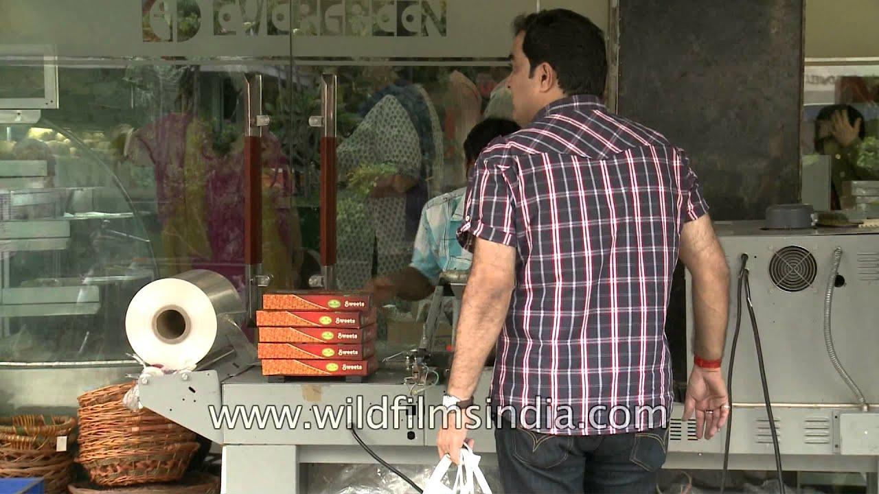 Evergreen sweet shop in green park new delhi youtube for Evergreen shop