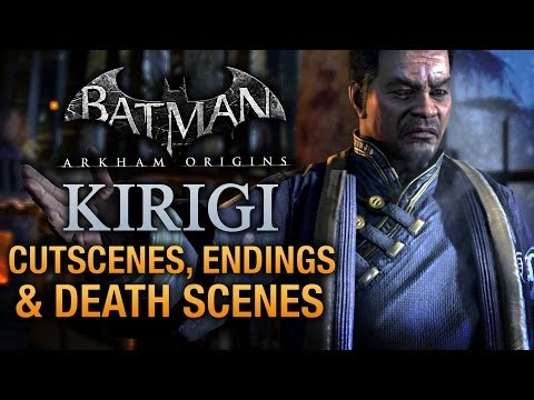 Batman: Arkham Origins - Kirigi Cutscenes, Endings and Death Scenes