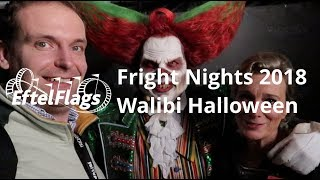 Halloween Fright Nights 2018 - Review + interview Eddie de clown, Mascha van Till - Walibi Holland