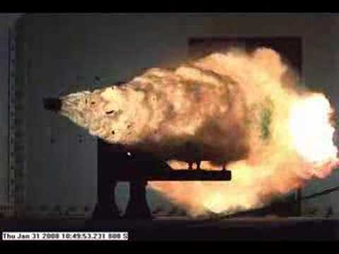 Navy s Record-Breaking Railgun Shot
