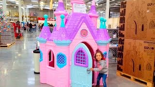 Princess Play Castle Toys / Fun in the Store