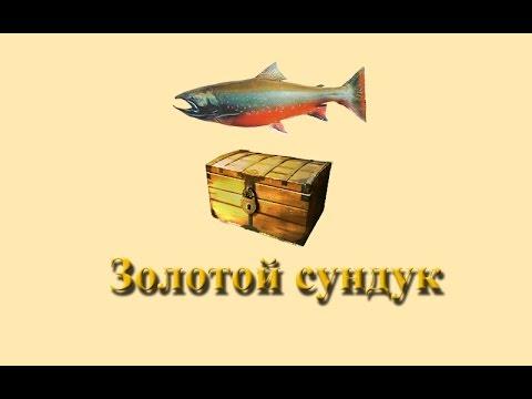 золотые сундуки в рыбалке