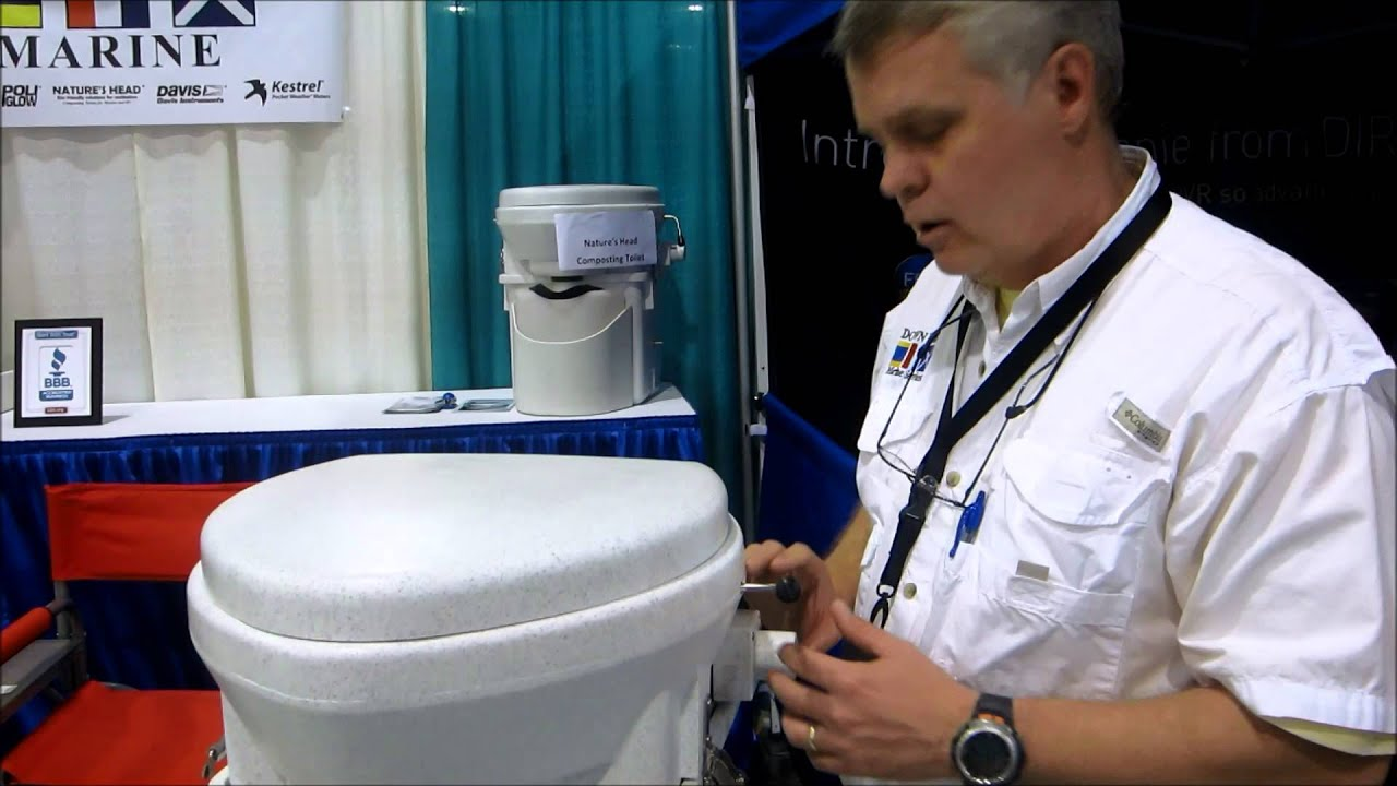 Natures Head Composting Toilet - YouTube