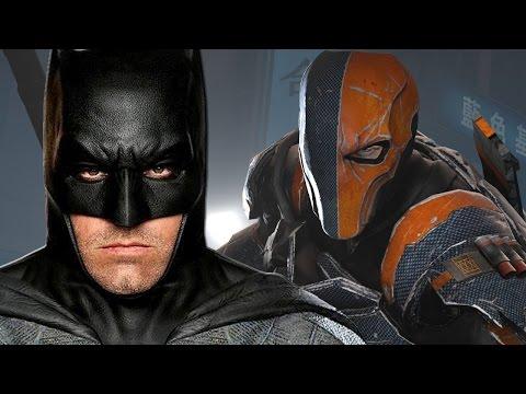 Deathstroke Set For Batman Movie