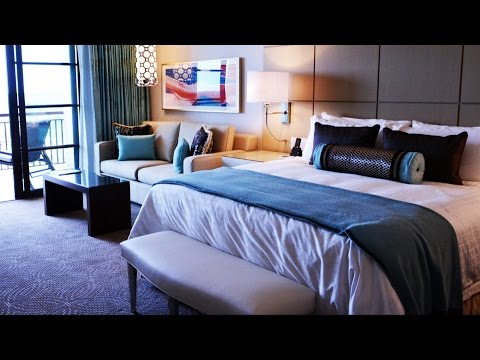 Four Seasons Orlando at Walt Disney World Standard Room Tour with Park View of Epcot, Magic Kingdom