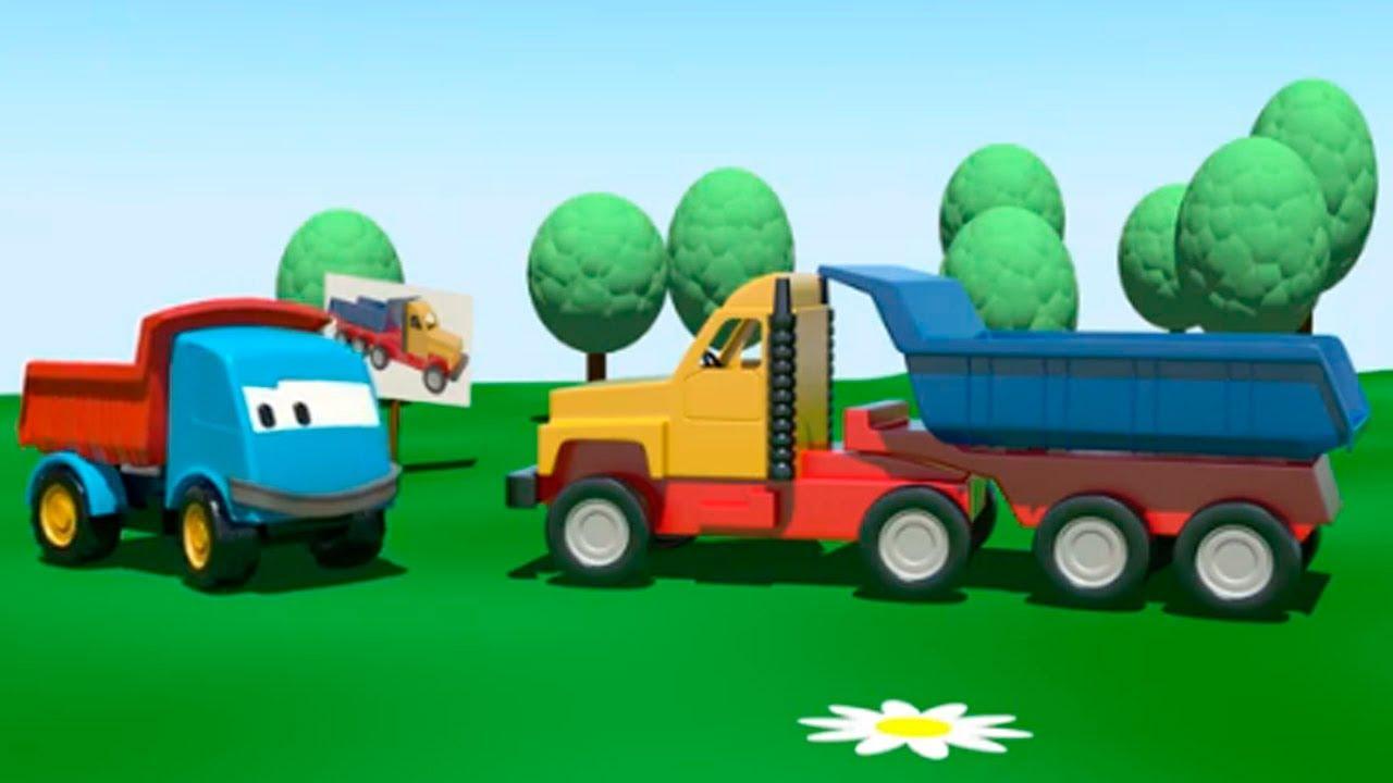L o le camion curieux le gros camion dessins anim s en fran ais youtube - Dessin anime de corneil et bernie ...