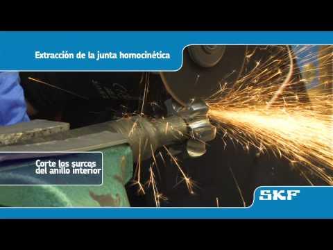 SKF - Instalación de la nueva junta homocinética VKJA 5339 - Peugeot 206
