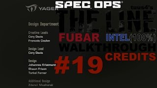Spec Ops: The Line (FUBAR Difficulty & 100% Intel) Walkthrough Part 19 - Credits