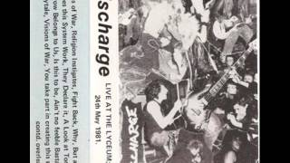Discharge - Chaos Cassettes 1981