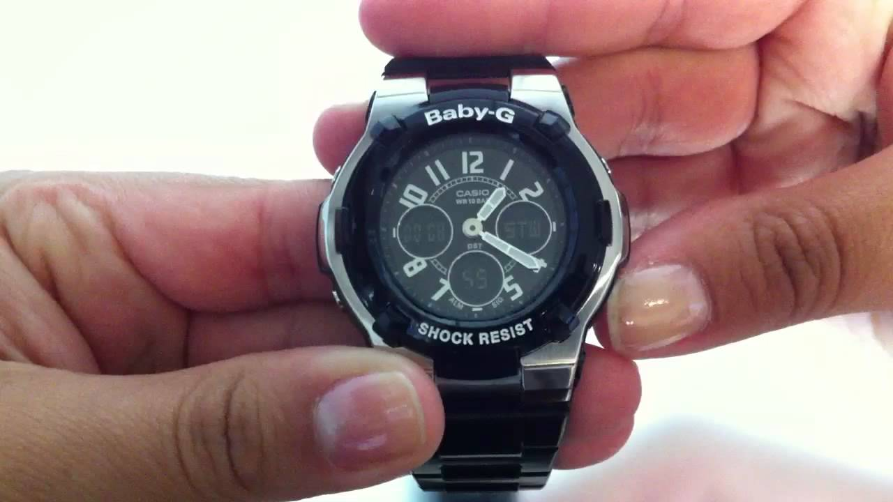 how to change daylights savings time on g shock