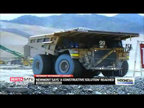 US Mining Giant Newmont Withdraws Arbitration Suit