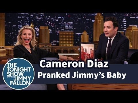 Cameron Diaz Pranked Jimmy's Baby