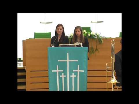 Jennifer Heinz/Luise Schröger: Schülerbegegnung Minsk - Volkstrauertag 2014 im Sächsischen Landtag