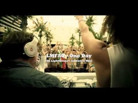 LMFAO - One Day (Extended Mix ~ DJ LightHouse) VIDEO HD!