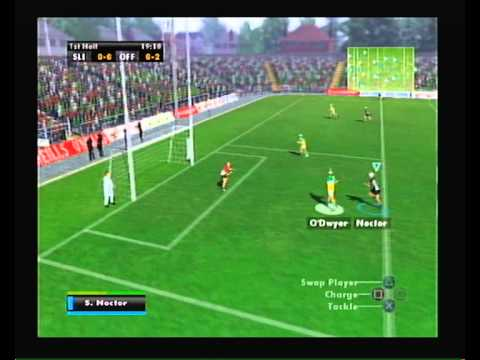 """Gaelic Games Hurling"" Playstation 2 (PS2) intro and gameplay (no commentary, no logos)"