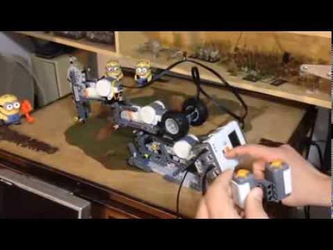 Robot TTL Realizado Con Lego NXT