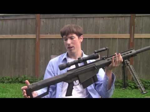Backyard Reviews: Snow Wolf M99 AEG (M82A1)   -ASTKilo23-