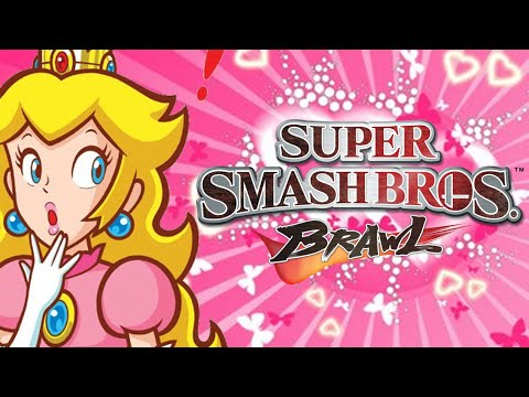 Peach loses by doing absolutely everything in Super Smash Bros. Brawl