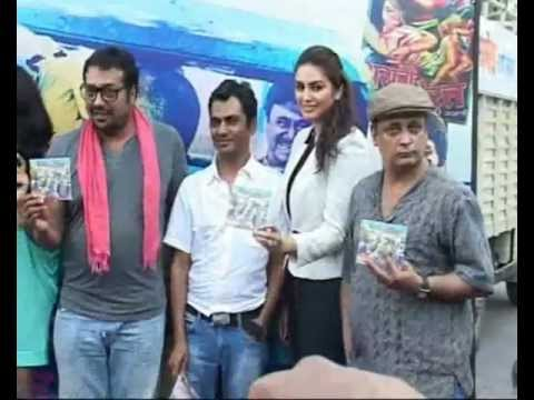 Manoj Bajpai Anurag Kashyap Richa Chadda Huma Qureshi at Gangs Of Wasseypur Music Launch Part 3