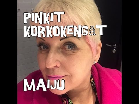 Pinkit korkokengät esittelyvideo