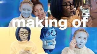 [小花絮] 下次自閉拍玩轉腦朋友  Inside Out Makeup Making Of