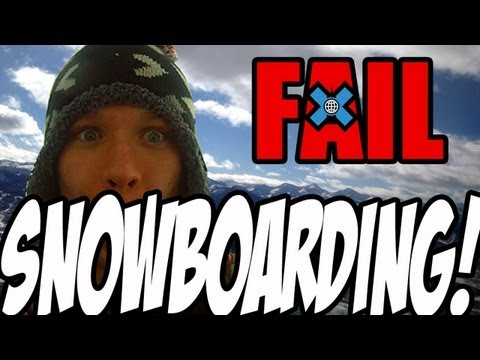 Real Life 101: How NOT to Snowboard (TmarTn Winter X Games 2012 Vlog)