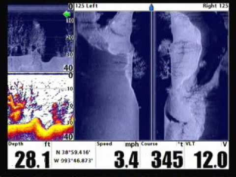 Humminbird down imaging side imaging and more youtube for Side imaging fish finders