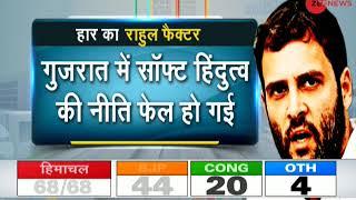 Game of Gujarat: Rahul Gandhi's politics failed against brand 'Modi'