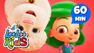 Mary Had a Little Lamb - Learn English with Songs for Children | LooLoo Kids