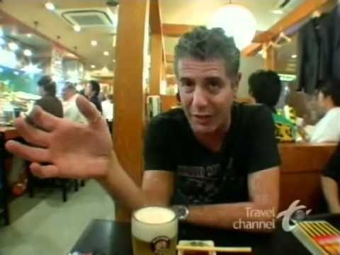 Anthony Bourdain No Reservations Osaka 大阪 Part 1