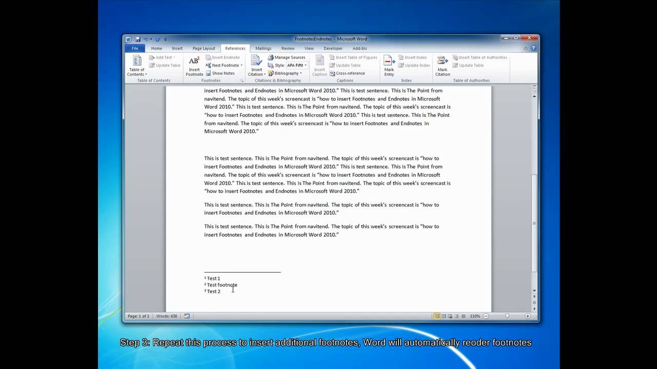 How To Create Footnotes And Endnotes In Microsoft Word