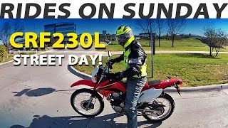 🏍️ Dual Sport 2008 Honda CRF230L | Taking it to the street