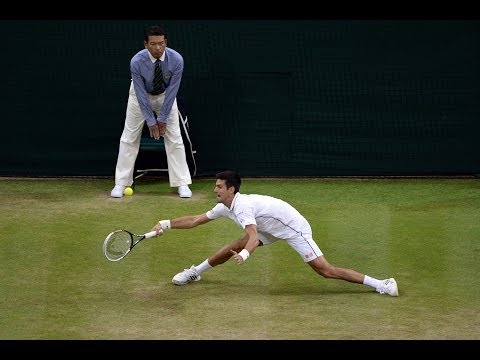 2014 Day 7 Highlights, Novak Djokovic vs Jo-Wilfried Tsonga, Fourth Round