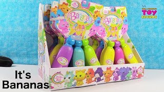 Bananas Bunch 1 Scented Surprise Figure Toy Review Unboxing | PSToyReviews