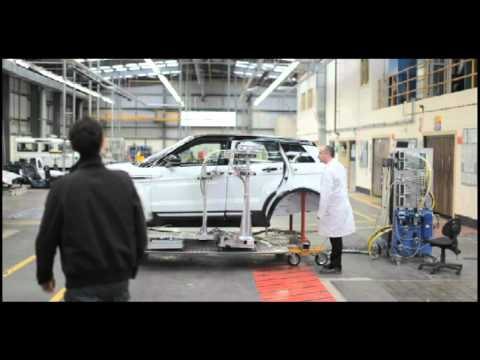 Range Rover Evoque development promo with Jonny Smith