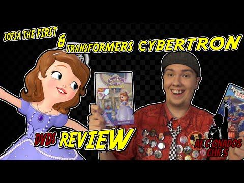Sofia the First and Transformers Cybertron DVD Review - Aficionados Chris