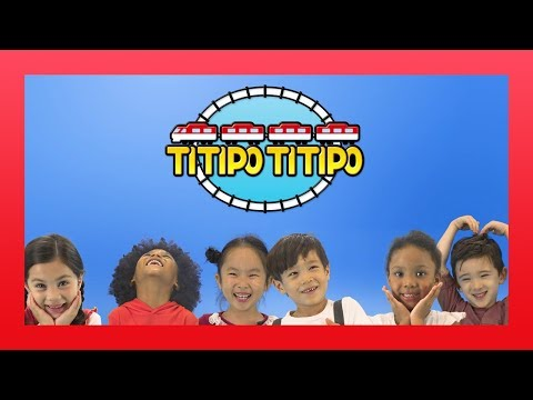 #TitipoDanceRelay l Let's Dance along with Titipo! l Train Songs for kids l TITIPO TITIPO