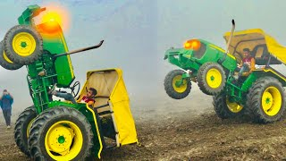 John Deere 5050 D first Stunt in Haryana