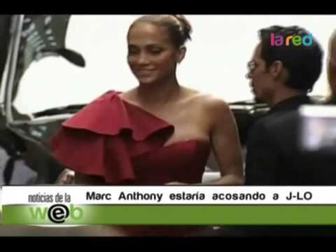 Un despechado Marc Anthony estaría acosando a su ex J Lo 480p