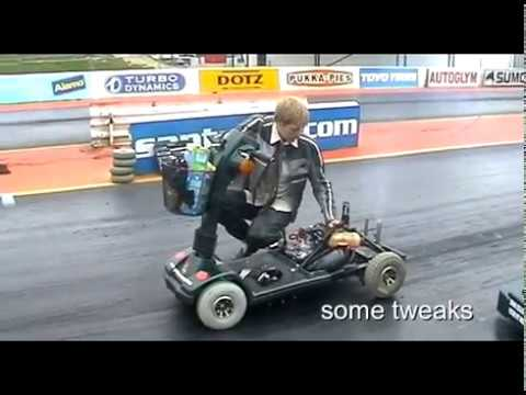 WORLDS FASTEST MOBILITY SCOOTER