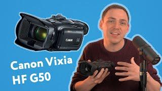Canon Vixia HF G50 Review: (2021)