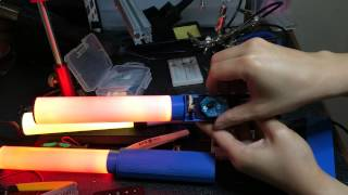RF Glow Stick Prototype: Design and Functional Overview