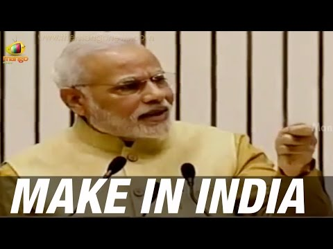 Modi on Make In India - FDI first to develop nation