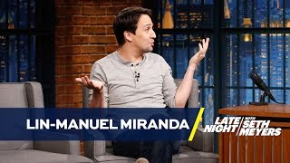 Lin-Manuel Miranda Learned About His Hollywood Star While Hanging with Weird Al Yankovic