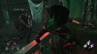 Dead by Daylight - Rank 1 Survivor Gameplay! Cyber Punk Nea OP! (VS Rank 1 Doctor)