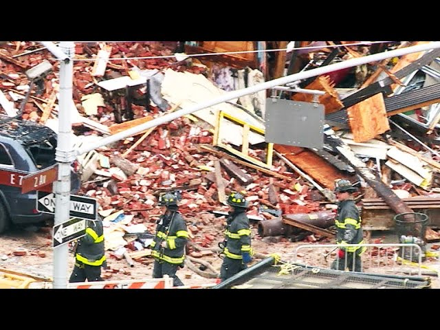 Search continues for missing people after NYC building blast