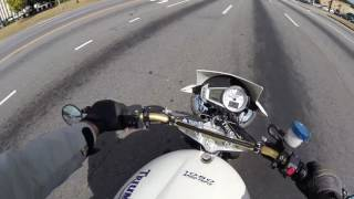 Motorcycle Safety: Riding in traffic and avoiding dangerous situations