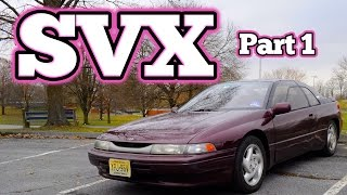 Regular Car Reviews: 1992 Subaru SVX, Part 1