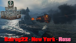 World of Warships - New York - Rose